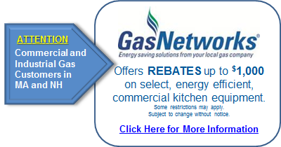 Gas Networks Rebates