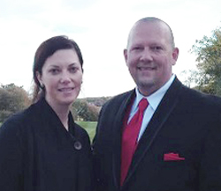 Robert Powers and Tricia Dambrauskas