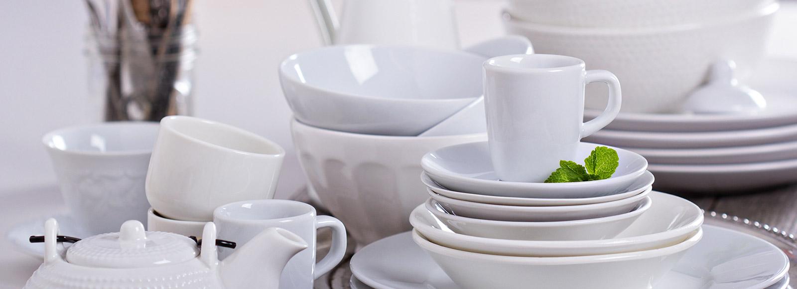 restaurant plates bowls mugs